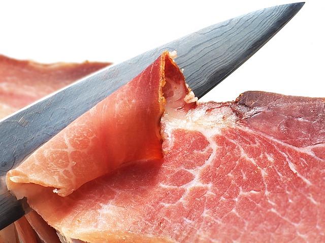 cuchillo jamonero afilado